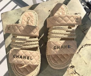 chanel, Nude, and shoes image