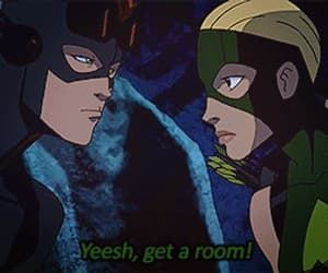 gif, wally west, and young justice image
