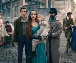 les miserables, dominic west, and lily collins image