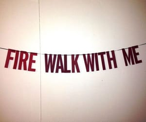 Twin Peaks, fire walk with me, and red image