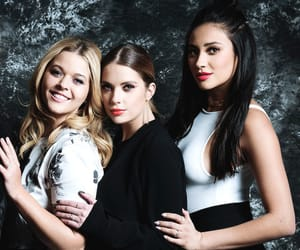 ashley benson, sasha pieterse, and shay mitchell image