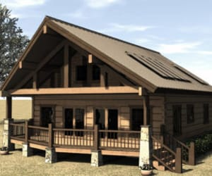 unique house plans, affordable house plans, and wholesale log homes image