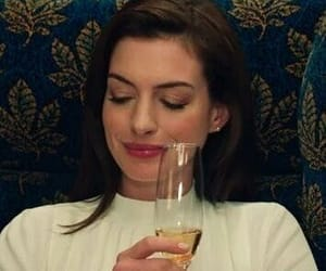 Anne Hathaway, girl, and happy image