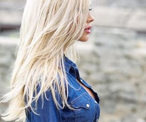 beautiful, blonde, and blonde hair image