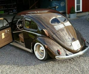 brown, cars, and volkswagen image