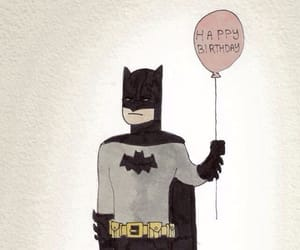 batman, DC, and happy birthday image