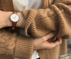aesthetic, beige, and sweater image