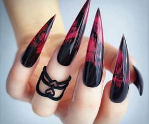 Halloween, moda, and nails image