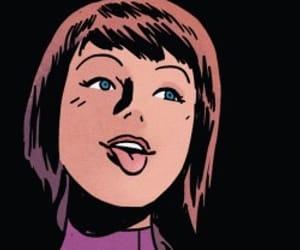 marvel comics, kate bishop, and comic book icons image