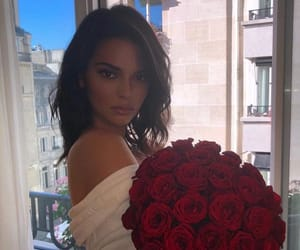 beauty, kendall jenner, and bouquet image