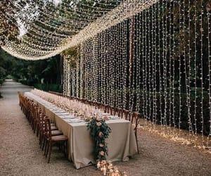lights, wedding, and love image