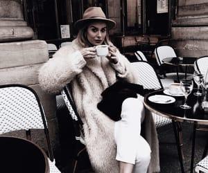 cappuccino, coat, and fashion image
