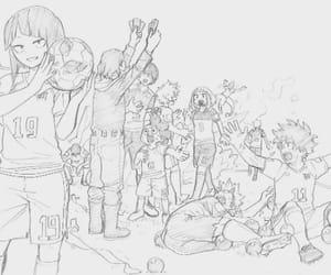 boku no hero academia, midoriya izuku, and bnha image