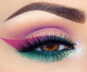 beauty, eye, and inspiration image