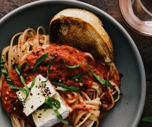 pasta and tomato image