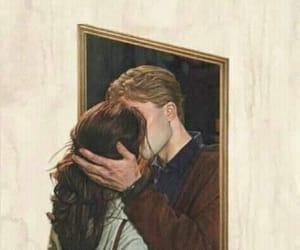 artistic, art, and kiss image