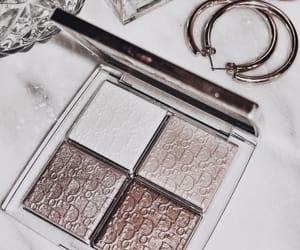 cosmetics, dior, and eyeshadow image