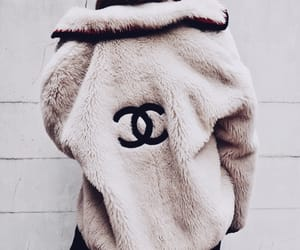 chanel, fashion, and coat image