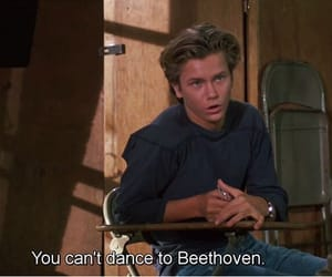 Beethoven, movie, and river phoenix image