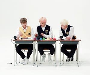 bts, jin, and v image