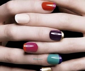 new multicolor nails and trend 2019 nails image