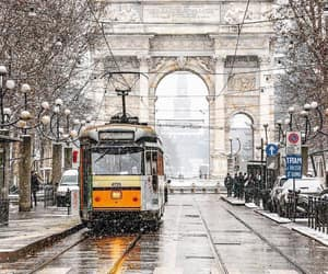 italy, travel, and winter image
