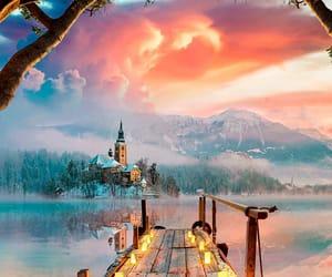 fantasy, lake, and lake bled fantasy image