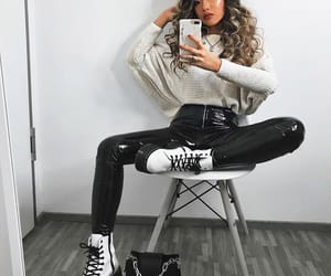 clothes, fashion, and curlyhair image