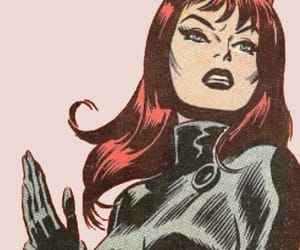 black widow, marvel comics, and natasha romanoff image
