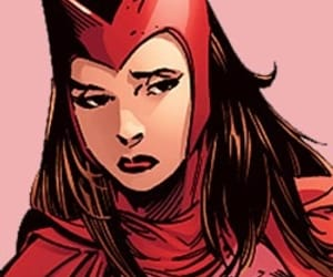 scarlet witch, marvel comics, and comic book icons image