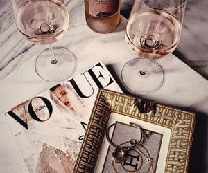 accessories, champagne, and fashion image