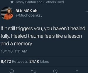 trigger, trauma, and 2019 image