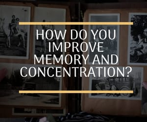 concentration, personal development, and memory image