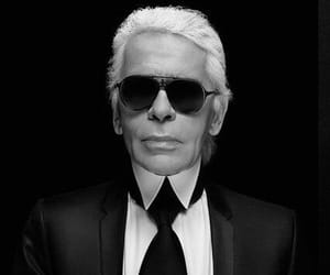 karl lagerfeld, rip, and chanel image