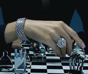 checkmate, chess, and diamonds image