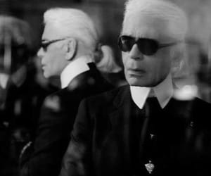 chanel, fashion, and lagerfeld image