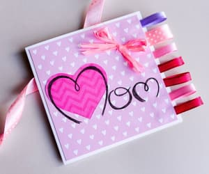 card, mom, and love image