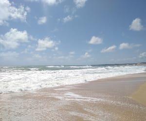 beach, brazil, and sea image
