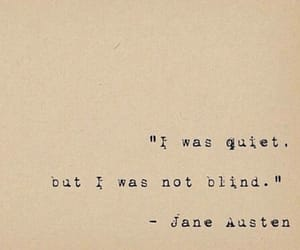 quotes, jane austen, and quiet image