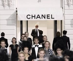 chanel, fashion, and karl lagerfeld image