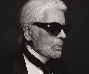 karl lagerfeld, chanel, and fashion image