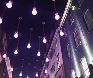 february, Londres, and purple image