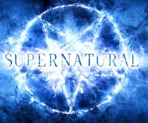 spn, supernatural, and supernatural logo image