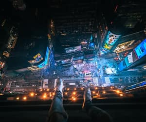 new york, time square, and ny image