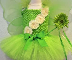 etsy, girls halloween, and green fairy costume image
