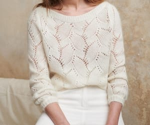embroidery, sézane, and sweater image