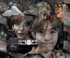 cyber, goth, and nct dream image