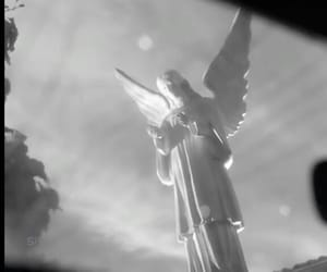 american, horror, and angel image