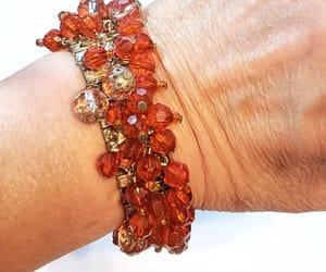 etsy, chunky bracelet, and crystal bracelet image