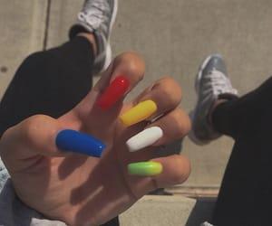 art, color, and nail art image